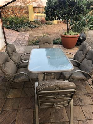 6 Seater Outdoor Patio Set