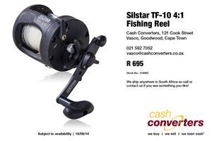 Silstar TF-10 4:1 Fishing Reel