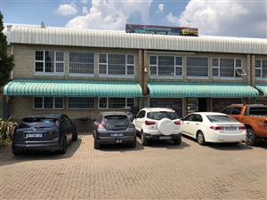 SHOWROOM / FACTORY / WAREHOUSE TO LET IN HENNOPS PARK, CENTURION, WITH RETAIL POSSIBILITIES!