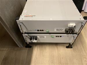 2x Narada 50aH LifePO solar lithium ion batteries