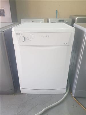 White eco Defy dishwasher
