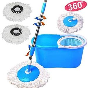 360° Rotating Mop With Bucket