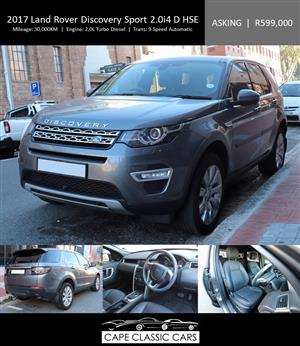 2017 Land Rover Discovery Sport DISCOVERY SPORT 2.0i4 D HSE