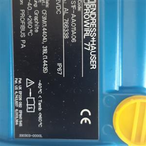 Endress Hauser Prowirl 77 Flowmeter
