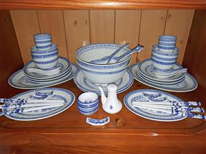 Chinese Dragon Dinner Service