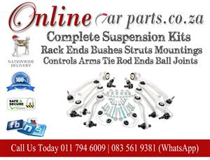 High Quality Complete Suspension Kits Rack Ends Bushes Struts Mountings Control Arms Tie Rod Ends Ball Joints