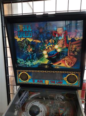 Judge Dredd Pinball Machine by Bally for sale