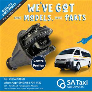 CENTRE PORTION for Toyota Quantum - SA Taxi Auto Parts quality used spares