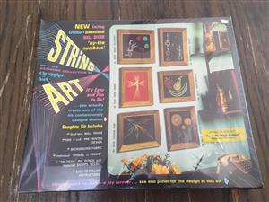 String Art - New & sealed in the box - Includes the frame!