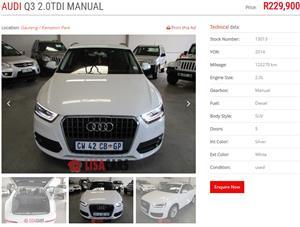 2014 Audi Q3 2.0TDI