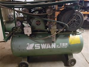 Compressor, make Swan, 1/2 HP motor, 88 liter