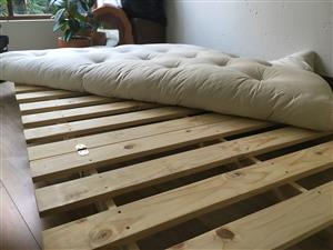 Brand new Futon bed and mattress
