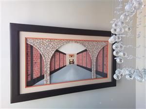For all your 3 D African arts  with lights and Decorated mirrors