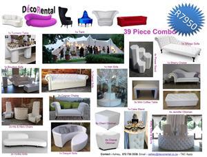 Wedding Decor / Furniture Hire / Wedding Furniture