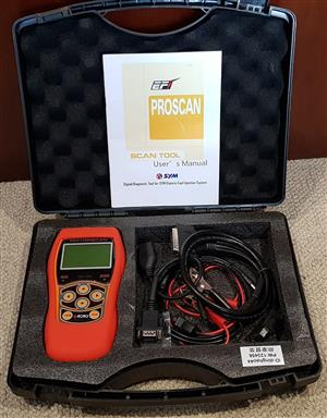 Sym Motorscan ED100 digital diagnostic tool for Sym electrical fuel injection;