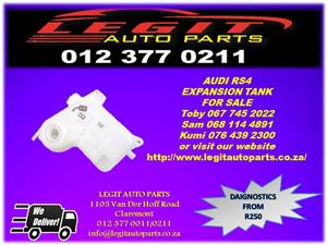 Legit Auto Parts we are Currently  Selling  AUDI RS4 EXPANSION TANK  FOR SALE