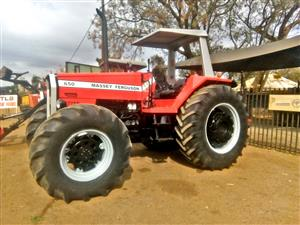Massey Ferguson (MF) 650 120 HP 4x4 Pre-Owned Tractor