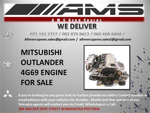 MITSUBISHI OUTLANDER 4G69 Engine
