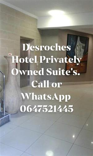 Holiday Accommodation At The Desroches Hotel Privately Owned Suites in Margate