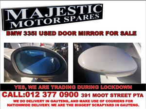 Bmw 335i used door mirror for sale majestic motor spares