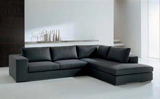 Brand new couch ( Universal 2pc corner couch) with free ottoman