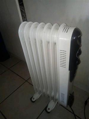 Oil heater as good as new