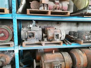 100 LARGE ELECTRIC MOTORS FOR SALE