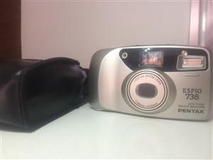 Pentax Espio 738 Vintage Camera