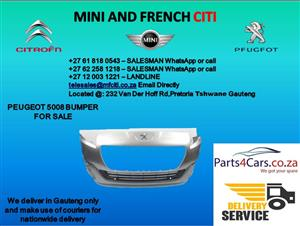 Peugeot 5008 front bumper for sale