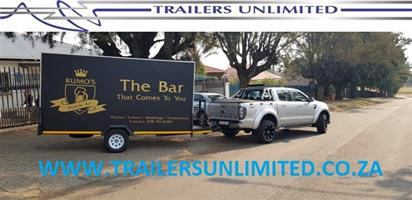 CUSTOM BUILD BAR TRAILERS 4000 X 1800 X 2100