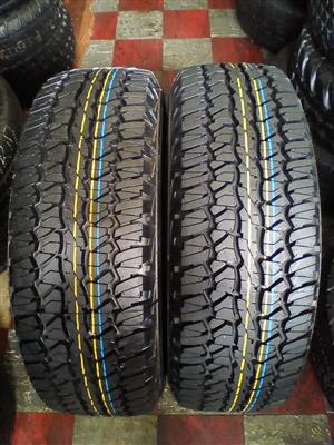245/70/16C Firestone destination tyres