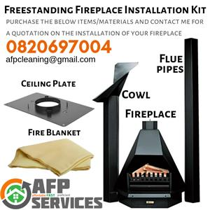 Fireplace installations / chimney sweeps and much more THIS WINTER!