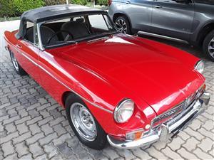 1966 MG B 1800
