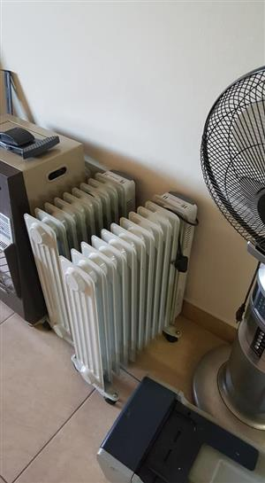 2 Oil heaters for sale