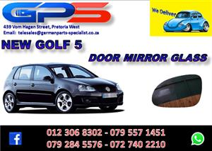 New VW Golf 5 Door Mirror Glass for Sale