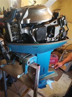 25 hp yamaha outboard motor non starter | Junk Mail