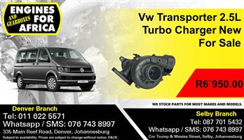 Vw Transporter 2.5L Turbo Charger New For Sale.