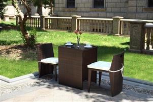 Sentinela Outdoor Patio Living Set - Brown