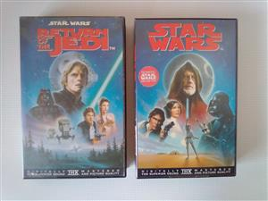 Star Wars Movies on VideoTape.