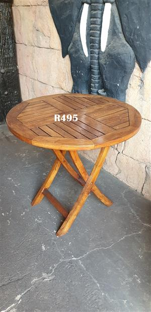 Round Classic Patio Tea Table (D 795mm H 740mm)