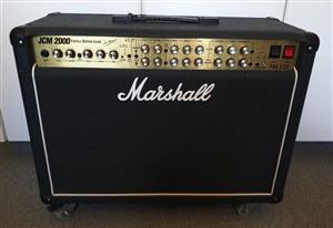 Marshall JCM2000 Valve Guitar Amp Combo (100 Watt) TSL122