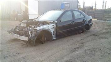 Mercedes Benz C-class C180 W203 Stripping for spares  Contact for Price