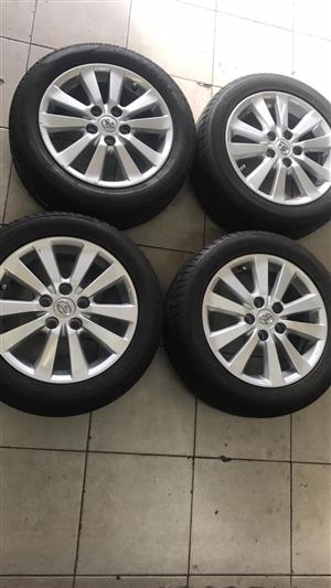 "16"" OEM Toyota Auris rims and tyres for sale"