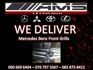 MERCEDES BENZ FRONT GRILLS FOR SALE