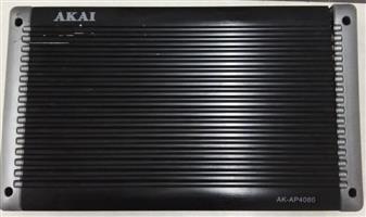 Akai 4 Channel Amplifier. R400.