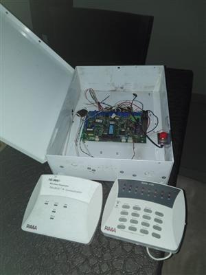 Hunter Pro Alarm system