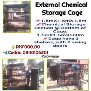 External Chemical Storage Cage