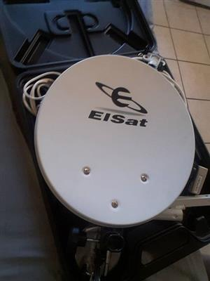 Portable satelite kit
