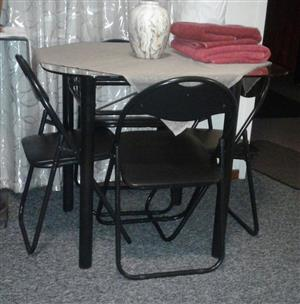Eating table with chairs