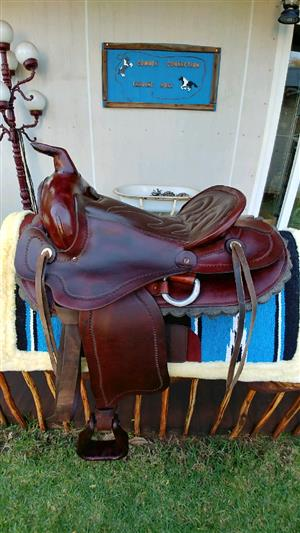Beautiful, good quality Western saddles for sale.